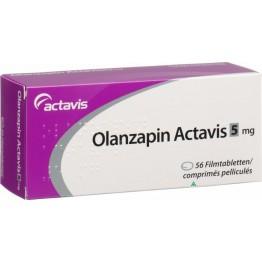 Оланзапин Актавис 5 мг (56 шт)