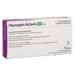 Оланзапин Актавис 10 мг (28 шт)