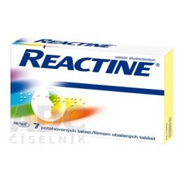 Реактин (Reactine) 10 мг, 7 таблеток