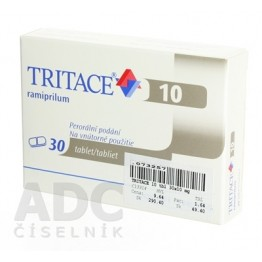 Тритаце (Tritace) 10 мг, 30 таблеток