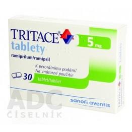 Тритаце (Tritace) 5 мг, 30 таблеток