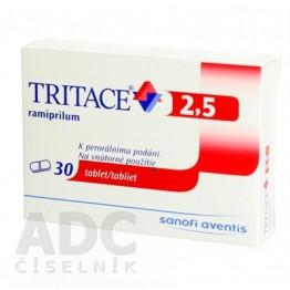 Тритаце (Tritace) 2.5 мг, 30 таблеток